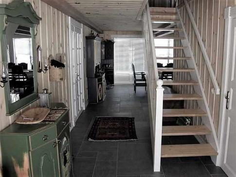 Hytte trapp