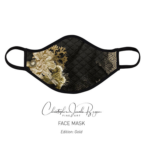 Face mask (Gold)