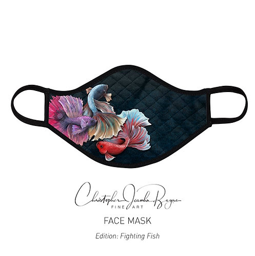 Face mask (Fighting Fish)