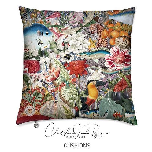 Cushions in Augmented Reality - Botanical X
