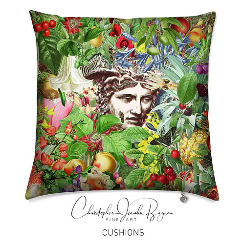 Cushions in Augmented Reality - Botanical VIII