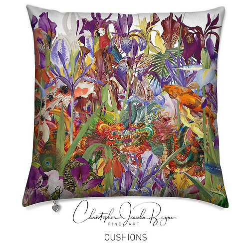 Cushions in Augmented Reality - Botanical VI
