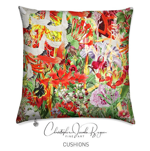 Cushions in Augmented Reality - Botanical IX