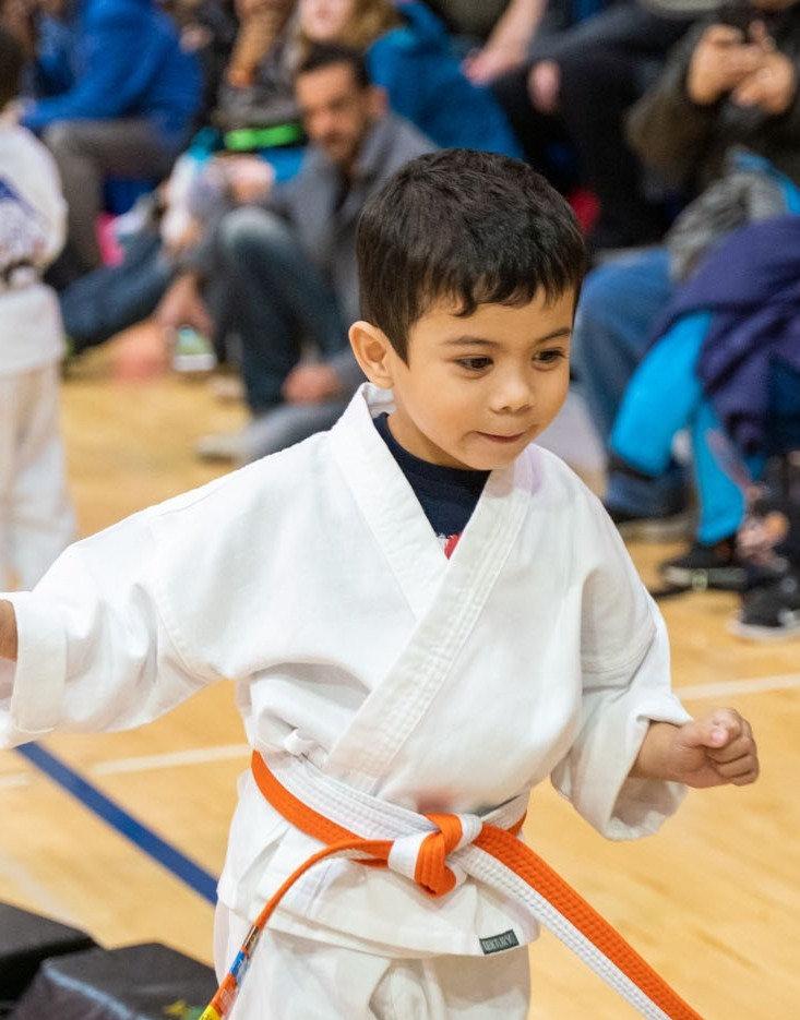 Little Ninja Class 3-5 years old