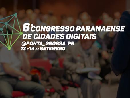 Thema participa do 6º Congresso Paranaense de Cidades Digitais, em Ponta Grossa/PR