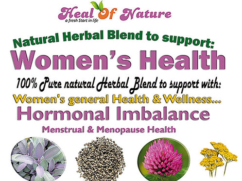 Pure Natural Herbal Blend to support Women's General Health & Well-being 100g