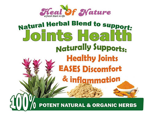 Joints Health Herbal Blend - Naturally EASES Discomfort & inflammation