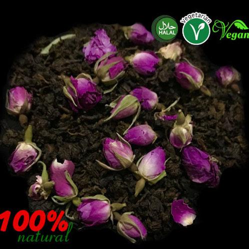 Oolong Tea and Pink Rose  Herbal Tea (Sliming & Detox)