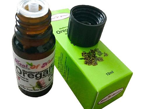 Pure Oregano Essential Oil Wild Mediterranean minimum 84% Carvacrol 10ml - 30ml