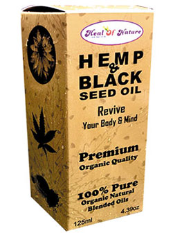 Organic Hemp Black seed Oil