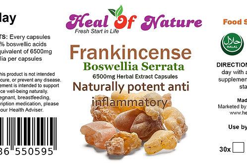 Boswellia Serrata / Frankincense Extract Capsules Joints Health