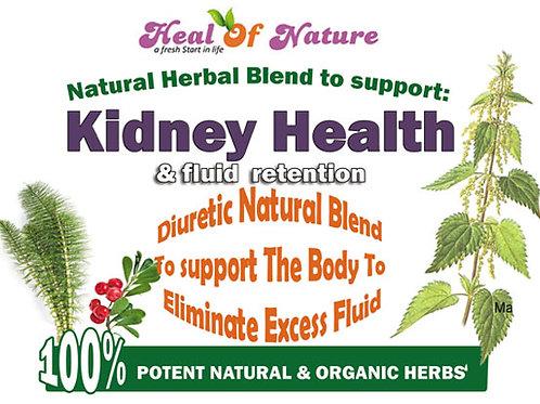 Kidney Health and & Fluid  Retention Herbal Blend
