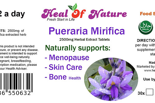 Pueraria Mirifica Herbal  Extract Tablets Women's Health