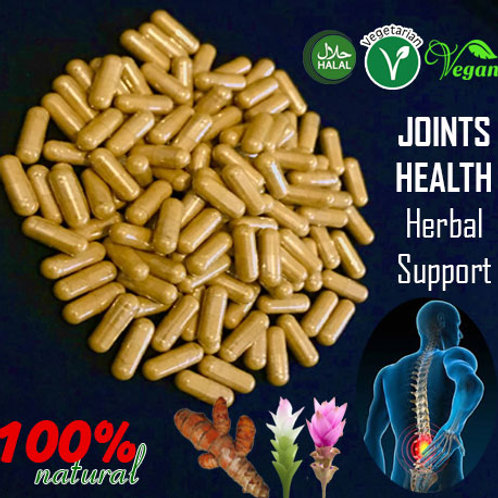 Joints Health Support: Naturally EASES Discomfort & inflammation