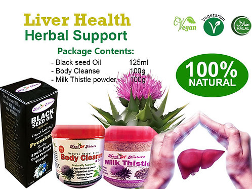 Liver Health Herbal Support (General Liver cleanse and detox)