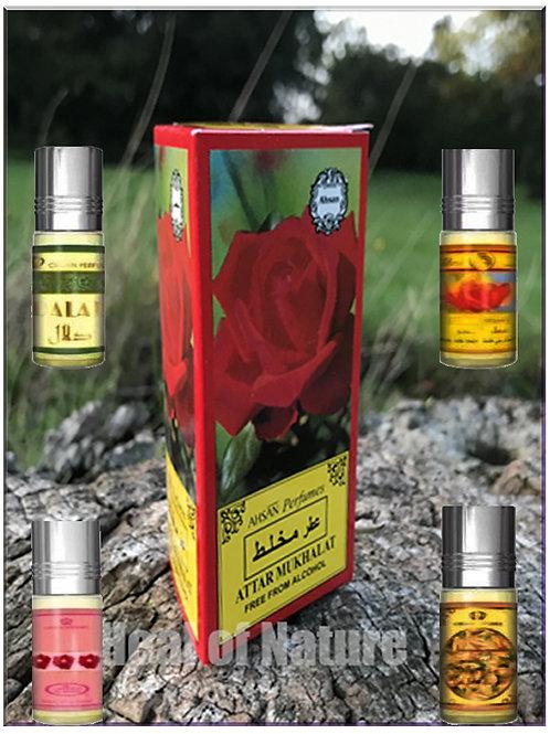 Al Rehab 6ml Roll Perfume Oil Alcohol Free - Select Fragrance -