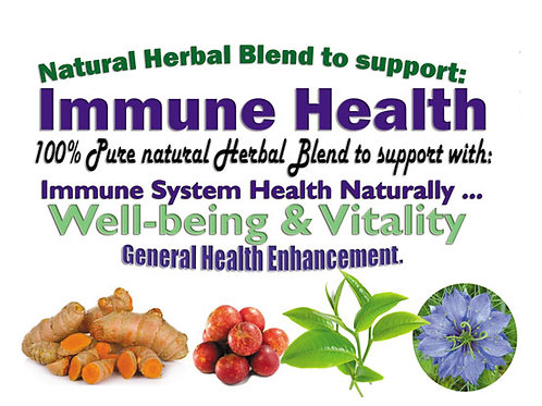 Herbal Blend to support Immune System Health & Well-being 100g