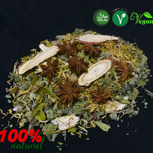 Lung Health and Respiratory tract Herbal Support Tea