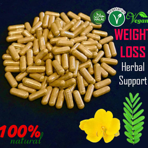 Herbal Support for: Weight loss, Sliming and detox (Herbal Capsules)
