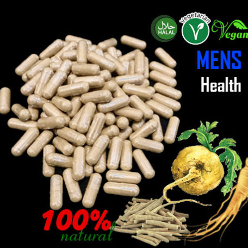 Men's Health Wellbing, Energy & Vitality, Manpower Herbal Capsules