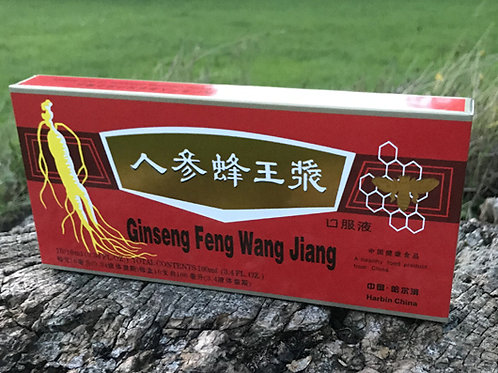 Authentic Panax Ginseng Royal Jelly Extract Oral Liquid 10 Bottles X 10 ML