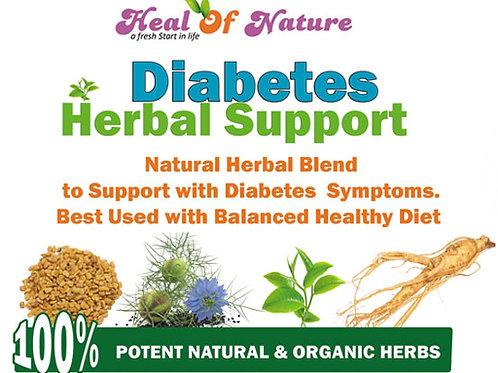 Diabetes Natural Support   - Herbal Blend Powder