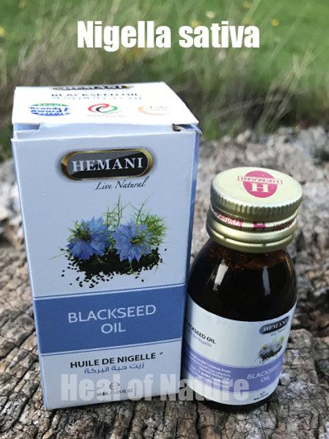 Black Seed / Kalonji / Nigella sativa Oil 100% Natural Infused 30ml - By Hemani
