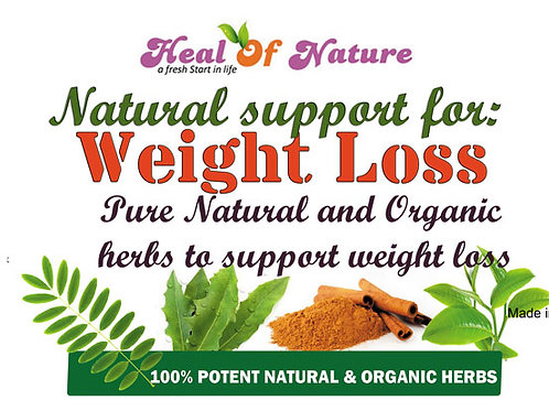 Weight Loss and Colon Cleanse Natural Blend