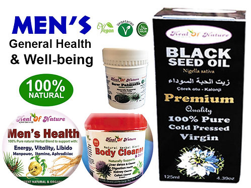 Men's General Health and Well-being Herbal Blend