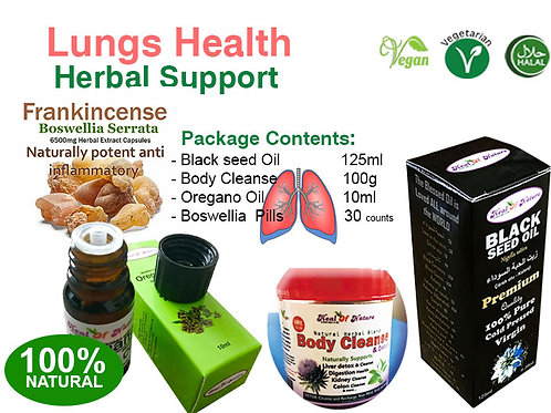 Lungs Health Herbal Plan 100% Naturals