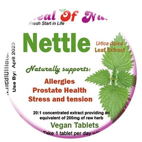 Nettle Root Extract 200mg