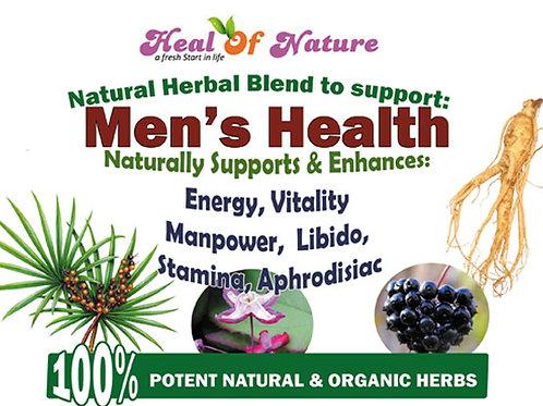 Men's Health  Wellbing, Energy & Vitality, Manpower Herbal Blend
