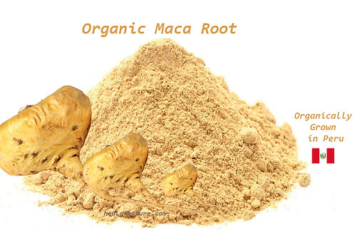 Organic Maca Root / Lepidium Meyenii  Peruvian Superfood) Choose Size