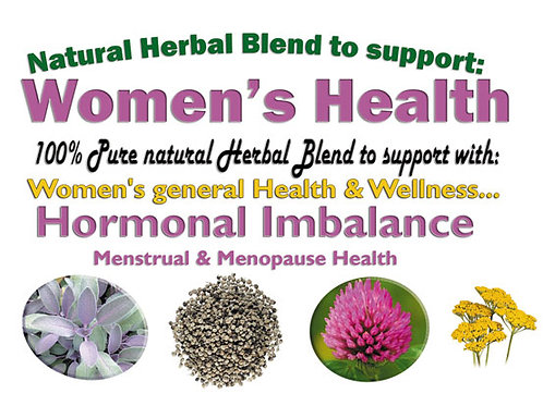 Women's Health, Hormonal Balance & Well-being Herbal Blend