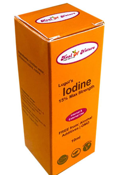 Lugols Iodine 10ml LUGOL'S BEST ORIGINAL FULL STRENGTH FORMULA