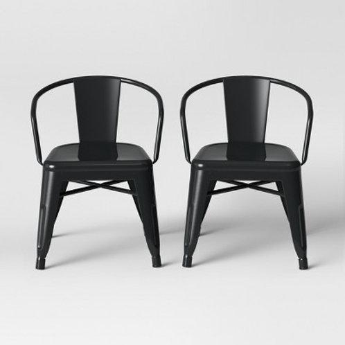 Black Kids Chair