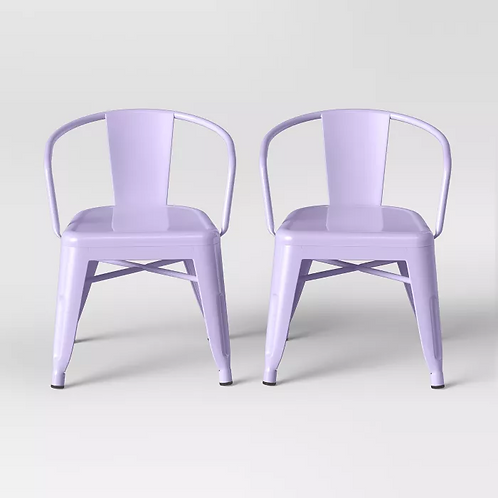 Lavender Kids Chairs