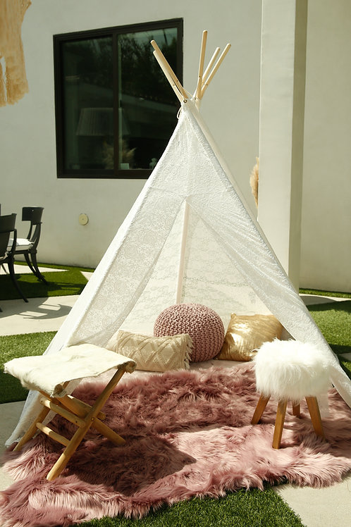 7 Ft. Lace Teepee