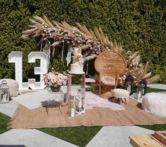 boho picnic party kids party rentals party planner event los angeles orange county