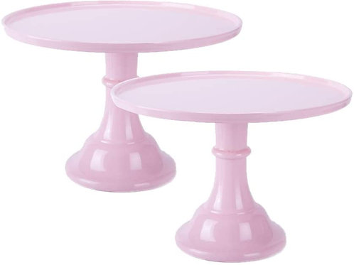 Baby Pink Twin Cake Stand Set (11 in.)