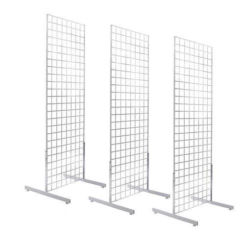 White Grid Backdrop Panel