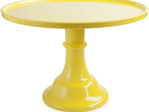 Yellow Cake Stand (11 in.)