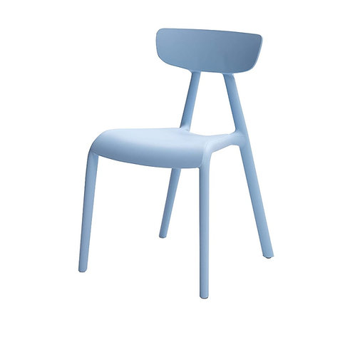 Baby Blue V-Back Kids Chairs