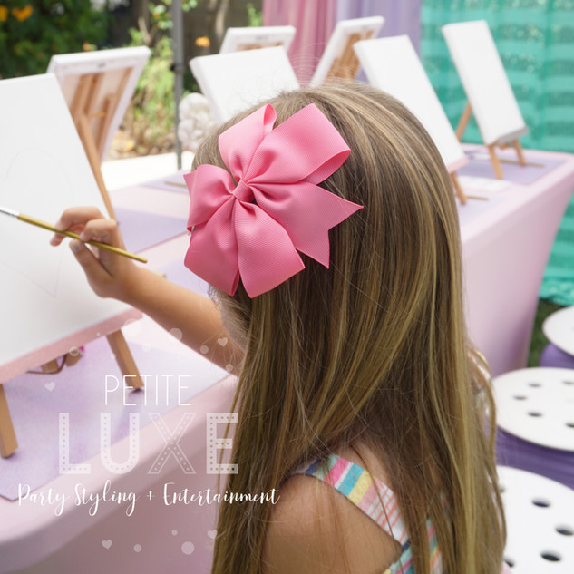 Girl-Painting-Party---Petite-Luxe-Partie
