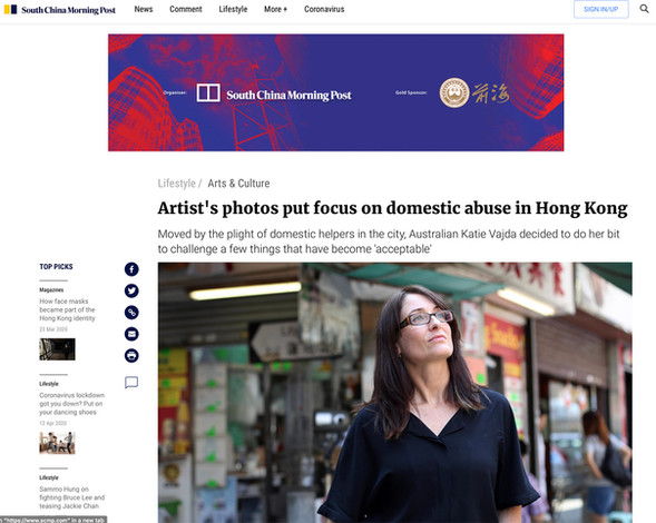 South China Morning Post - Interview, 2015