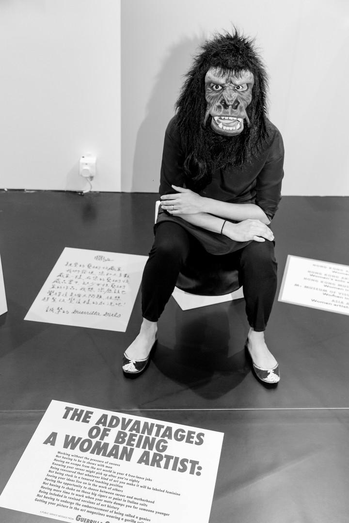 Guerrilla Girls, for Asia Art Archive - Art Basel 2018