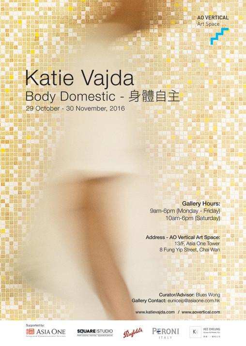 Poster - Body Domestic Solo Exhibition