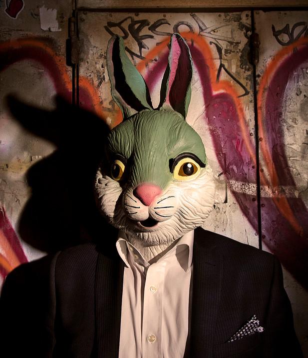 Portrait The White Rabbit