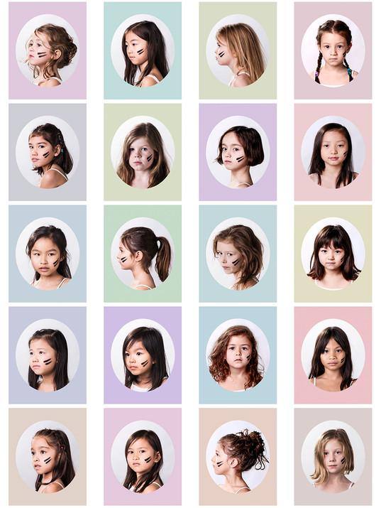 20 Girls - Contact Sheet