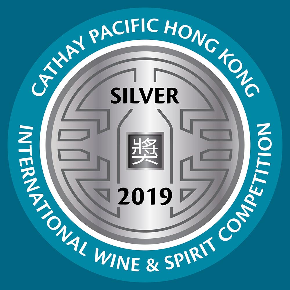 Silver Medal   HKIWSC   2019